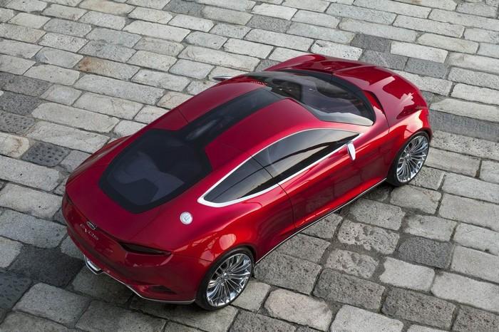 Оригинальный концепт-кар Ford Evos 6 (700x466, 120Kb)