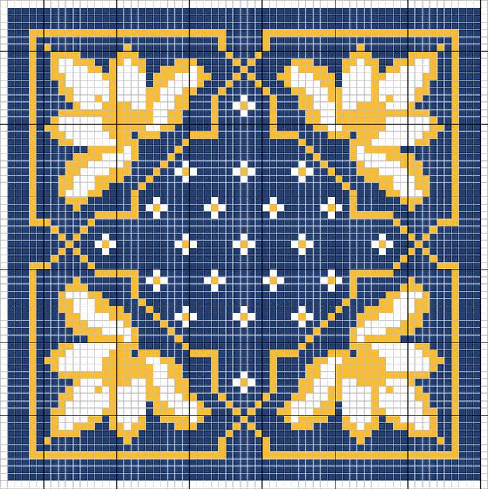 Вышивка крестом бискорню кривульки 172
