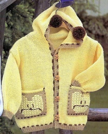 Детская вязаная спицами курточка с капюшоном и карманами/4683827_20120917_104941 (418x520, 287Kb)