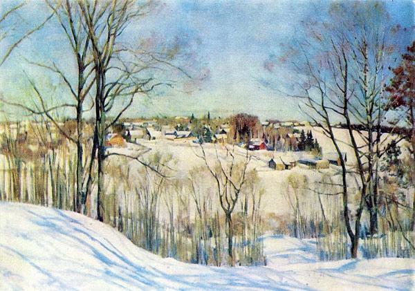 1910 Зимний день. X., м. (600x421, 104Kb)