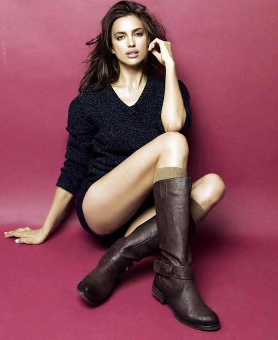 модные фото модель Ирина Шейк (572x700, 291Kb)