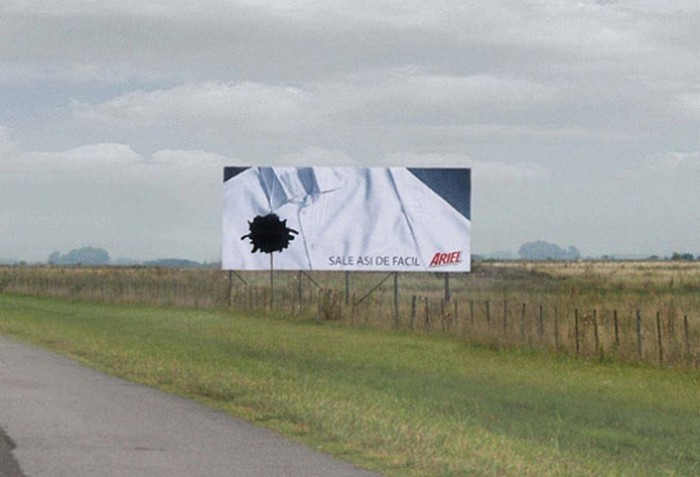Креативная наружная реклама на наших улицах