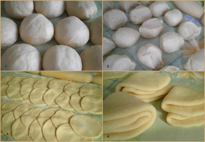Как сделать красивую форму для булочек с фото 368