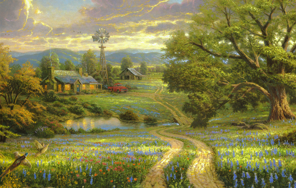 4963546_Country_living_Thomas_Kinkade (596x380, 320Kb)