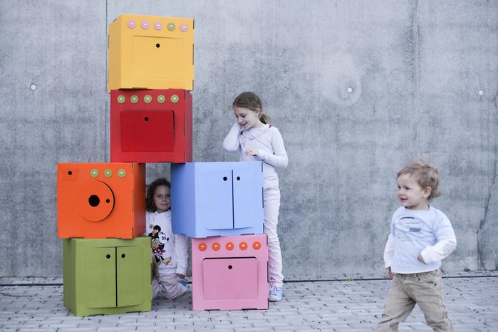 Маленькие домики своими руками из картона фото