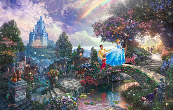 4963546_Cinderella_Wishes_Upon_A_Dream_Thomas_kinkade (596x380, 355Kb)
