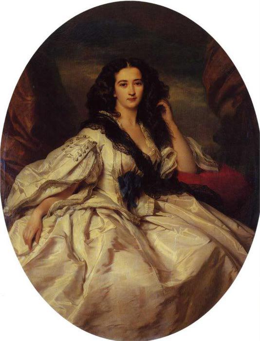 Wienczyslawa Barczewska, мадам де Jurjewicz, 1860 (534x700, 45Kb)