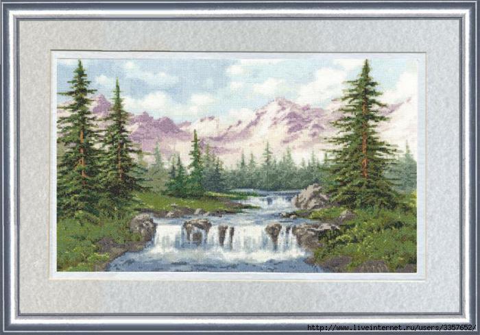 ВМ-012 Горный пейзаж (700x489, 177Kb)