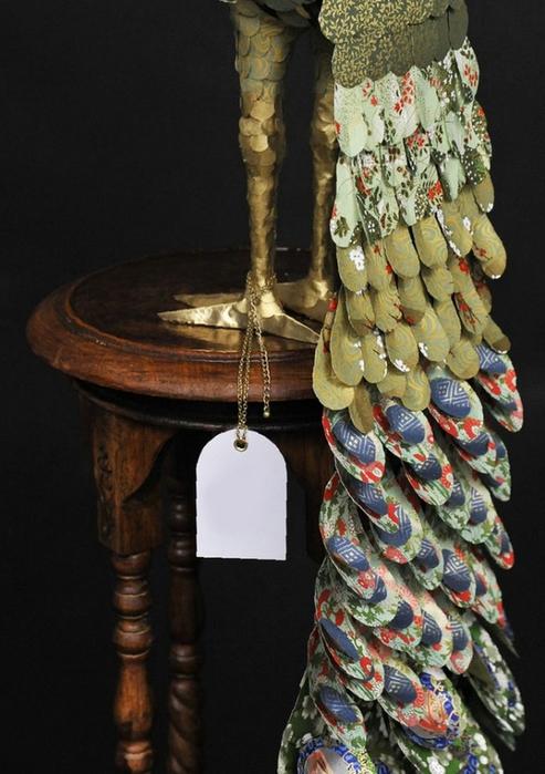 бумажные скульптуры птиц Julie Wilkinson и Joyanne Horscroft 10 (493x700, 238Kb)
