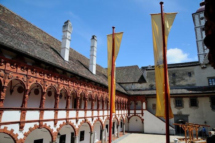 Замок Шаллабург (Schallaburg Castle) - прекрасный замок эпохи Возрождения. 83838