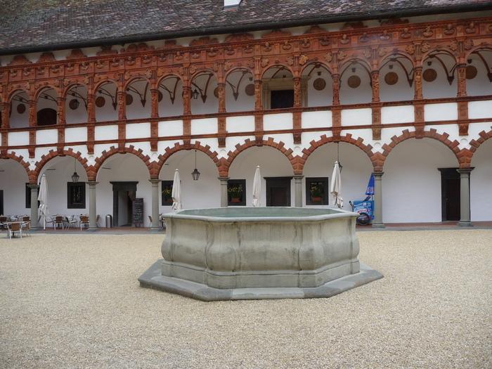 Замок Шаллабург (Schallaburg Castle) - прекрасный замок эпохи Возрождения. 38844
