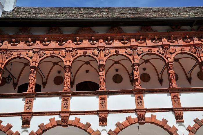 Замок Шаллабург (Schallaburg Castle) - прекрасный замок эпохи Возрождения. 23428