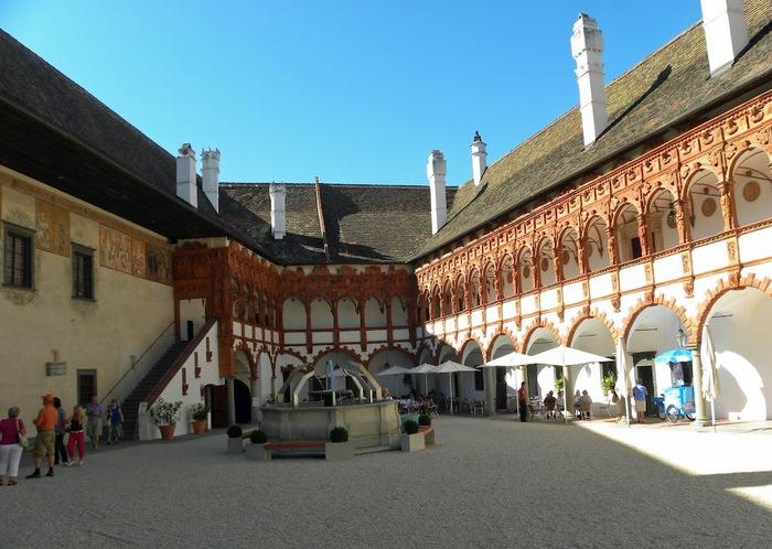 Замок Шаллабург (Schallaburg Castle) - прекрасный замок эпохи Возрождения. 30088