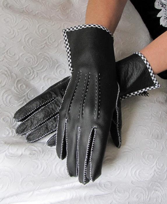 Как сшить перчатки своими руками фото