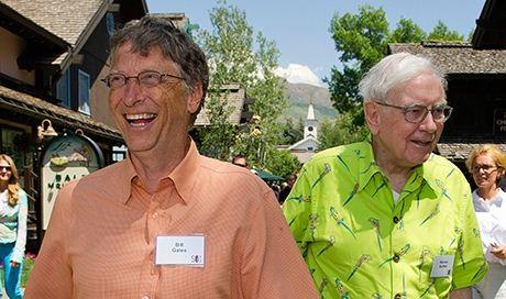 Билл Гейтс и Уоррен Баффетт (460x272, 35Kb)