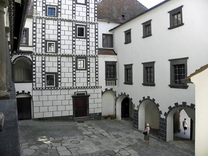 Замок Шаллабург (Schallaburg Castle) - прекрасный замок эпохи Возрождения. 68666
