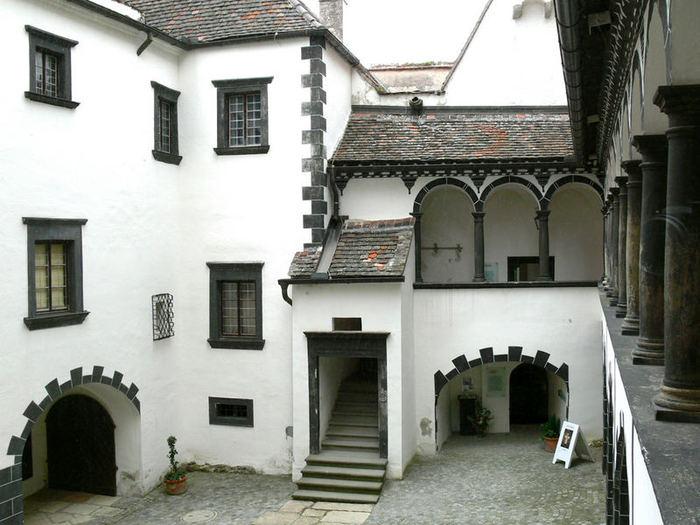 Замок Шаллабург (Schallaburg Castle) - прекрасный замок эпохи Возрождения. 65974
