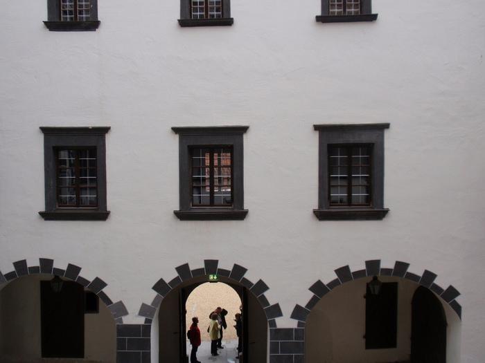 Замок Шаллабург (Schallaburg Castle) - прекрасный замок эпохи Возрождения. 47482