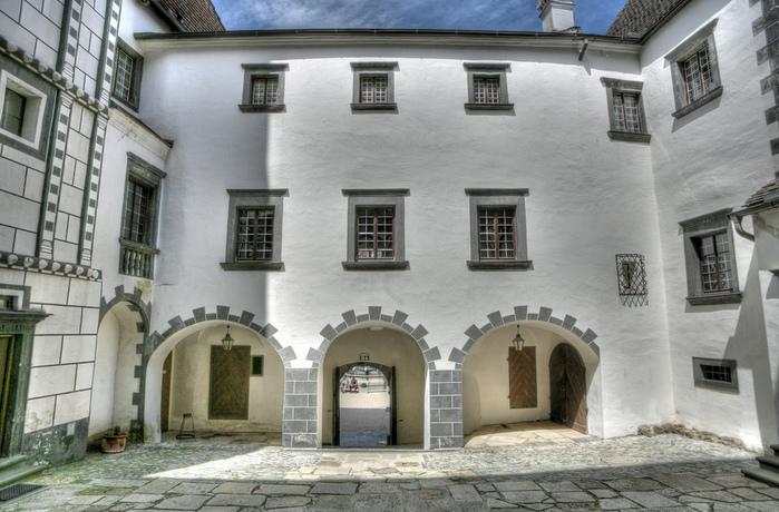 Замок Шаллабург (Schallaburg Castle) - прекрасный замок эпохи Возрождения. 68030