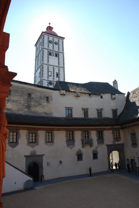Замок Шаллабург (Schallaburg Castle) - прекрасный замок эпохи Возрождения. 96125