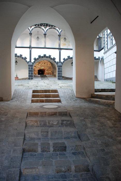 Замок Шаллабург (Schallaburg Castle) - прекрасный замок эпохи Возрождения. 79257