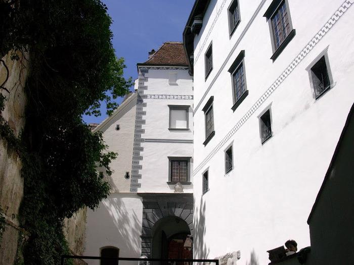 Замок Шаллабург (Schallaburg Castle) - прекрасный замок эпохи Возрождения. 94390