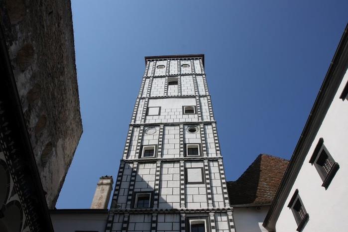 Замок Шаллабург (Schallaburg Castle) - прекрасный замок эпохи Возрождения. 38926