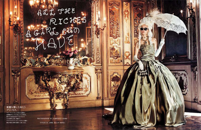 Мария Антуанетта на страницах Vogue (680x439, 171Kb)