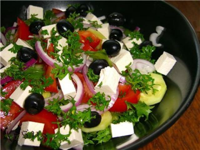 Рецепты салата греческий фото
