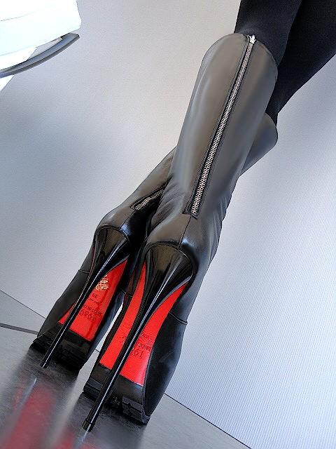 модные сапоги 2013 на высоком каблуке