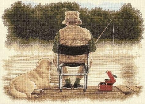 Показать следующее изображение.  Рыбак.