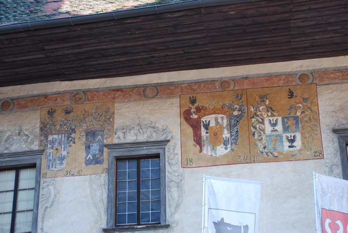 Замок Шаллабург (Schallaburg Castle) - прекрасный замок эпохи Возрождения. 71403