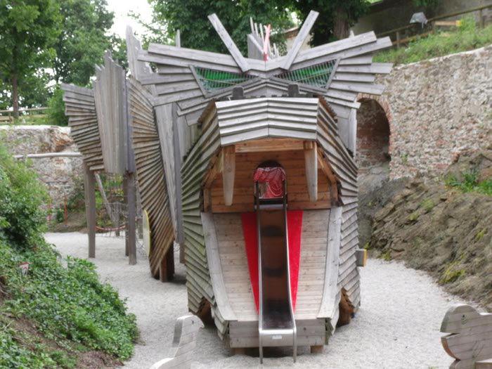Замок Шаллабург (Schallaburg Castle) - прекрасный замок эпохи Возрождения. 34802