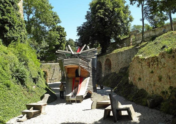 Замок Шаллабург (Schallaburg Castle) - прекрасный замок эпохи Возрождения. 67857