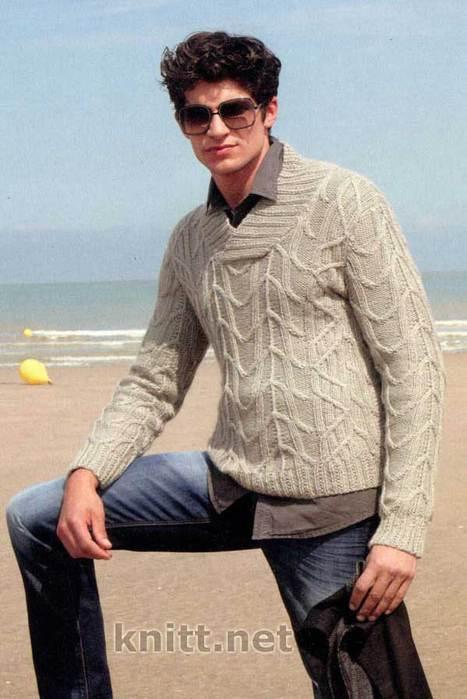 vyazanyj-pulover-dlya-muzhchiny-winston (467x700, 44Kb)