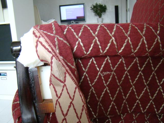Реставрация дивана подлокотников своими руками
