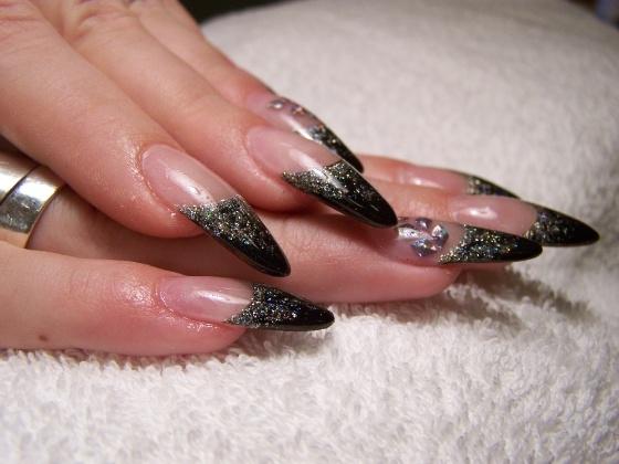 Дизайн ногтей на новый год 2013 змеи