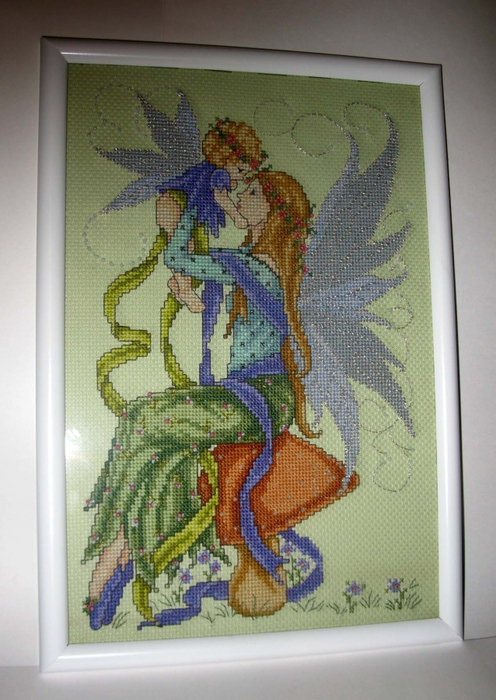 Вышивка мама фея
