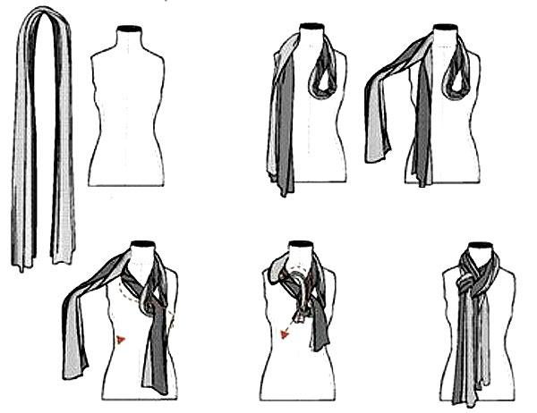 Как красиво завязать шарф на шею, способы завязывания ...: http://www.liveinternet.ru/users/natusya_ya/post239547348/
