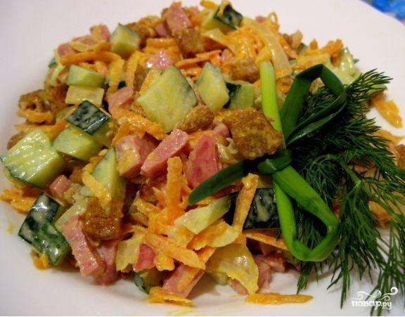 Салат обжорка классический рецепт фото