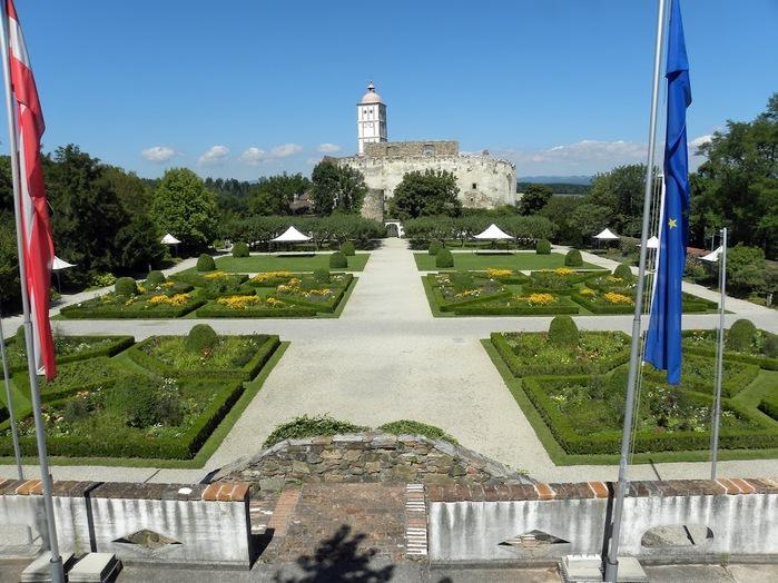 Замок Шаллабург (Schallaburg Castle) - прекрасный замок эпохи Возрождения. 32931