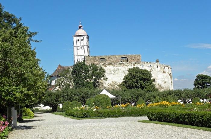 Замок Шаллабург (Schallaburg Castle) - прекрасный замок эпохи Возрождения. 97230