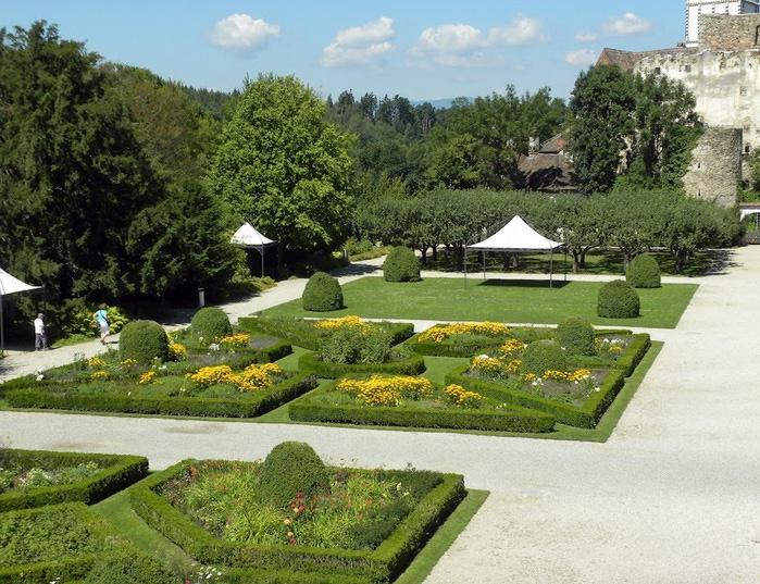 Замок Шаллабург (Schallaburg Castle) - прекрасный замок эпохи Возрождения. 40015