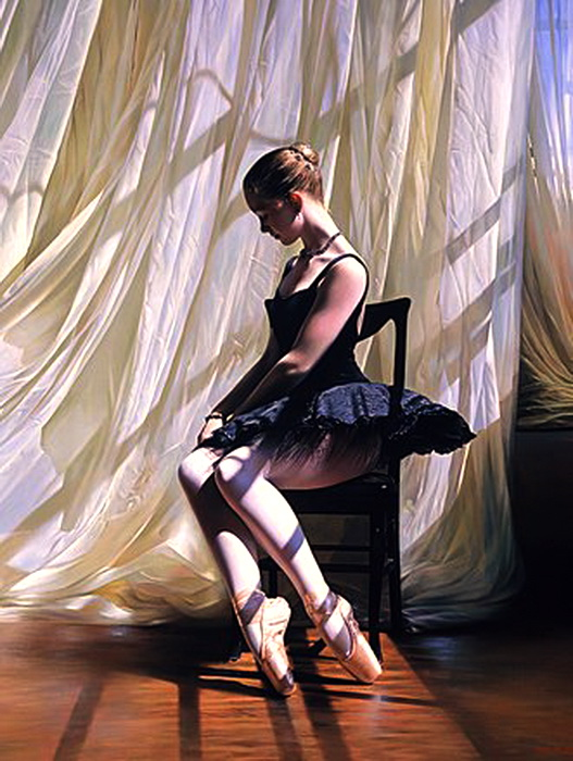 """Оригинал - Схема вышивки  """"Балерина 3 """" - Схемы автора  """"skazka-na-noch """" - Вышивка крестом."""