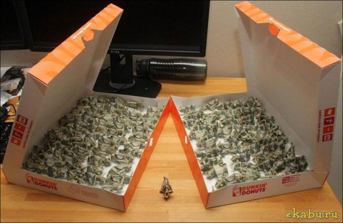 оригами из долларов 3 (670x436, 61Kb)