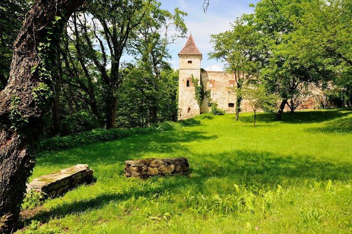Замок Шаллабург (Schallaburg Castle) - прекрасный замок эпохи Возрождения. 34725