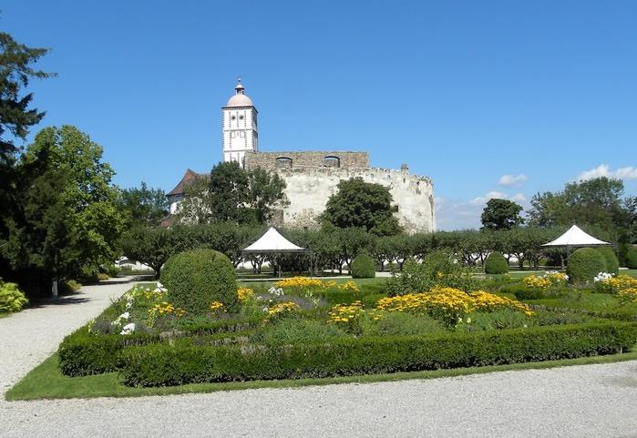 Замок Шаллабург (Schallaburg Castle) - прекрасный замок эпохи Возрождения. 72826