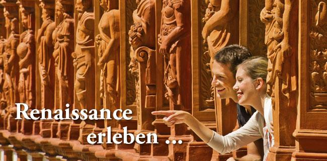 Замок Шаллабург (Schallaburg Castle) - прекрасный замок эпохи Возрождения. 90671