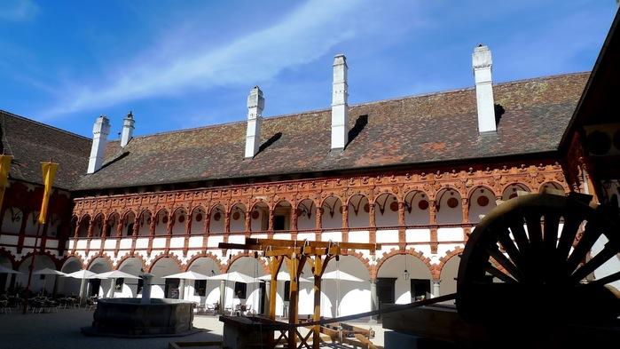 Замок Шаллабург (Schallaburg Castle) - прекрасный замок эпохи Возрождения. 66366