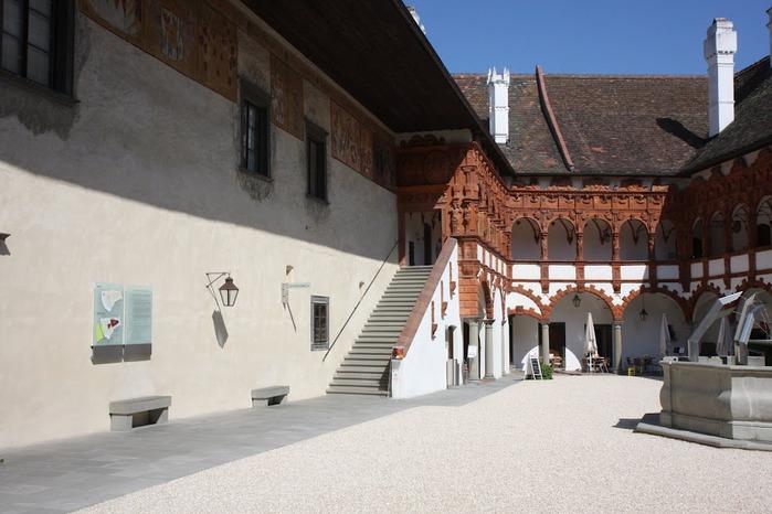 Замок Шаллабург (Schallaburg Castle) - прекрасный замок эпохи Возрождения. 86187